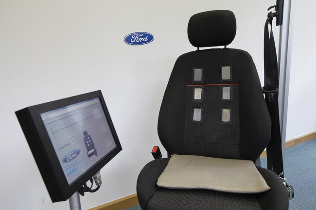 Ford diseña un asiento que vigila el ritmo cardíaco