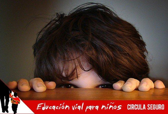 educacion vial para niños: ver y ser visto