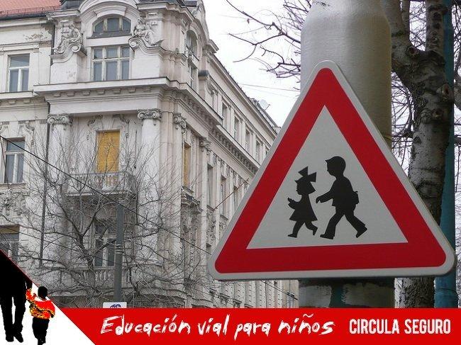 educacion vial para niños