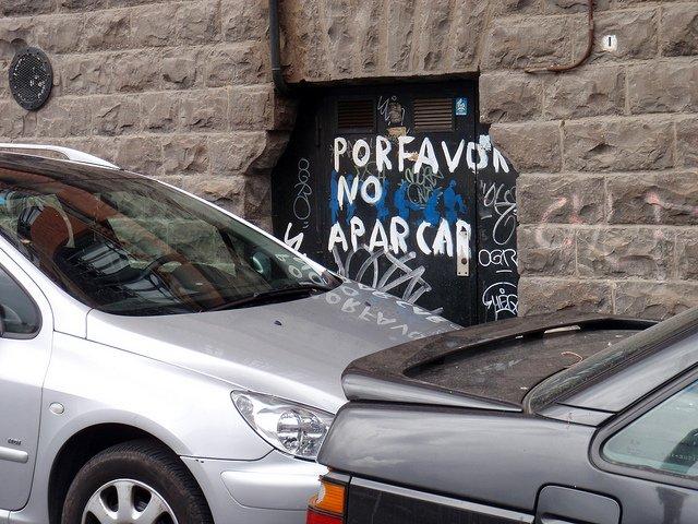 La angustia de aparcar el coche