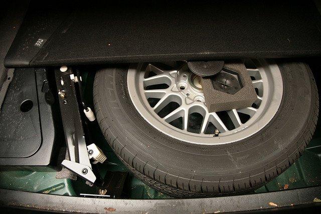 ¿A qué presión está tu rueda de repuesto?