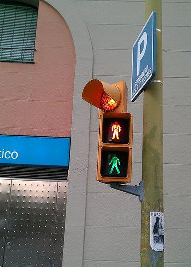 El semáforo más ambiguo del mundo