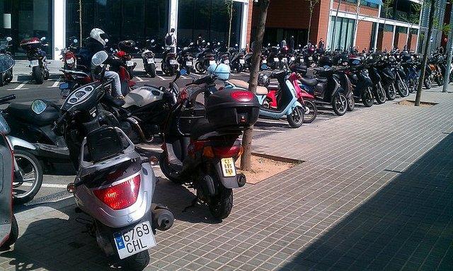 La aceleración de las motos