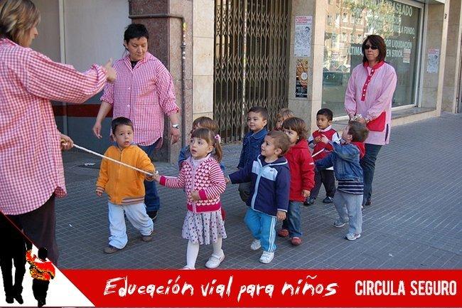 Educación vial para niños
