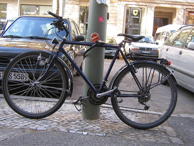 Para ir al centro, mejor en bici