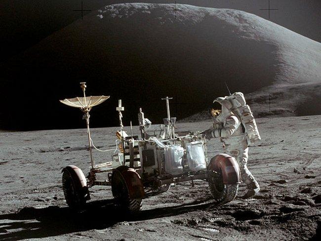 El Lunar Rover, primer automóvil que pisó la Luna