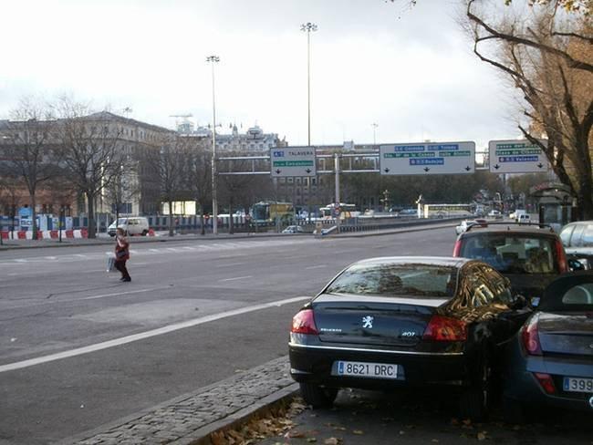 Cruzando mal la calle