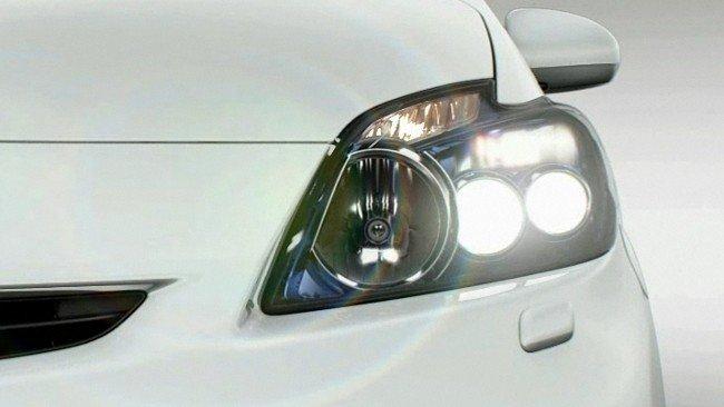 Luces led del Toyota Prius