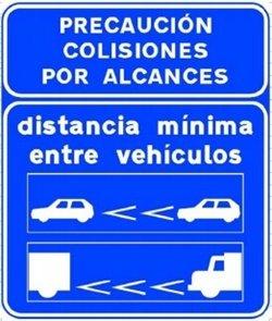 distancia de seguridad