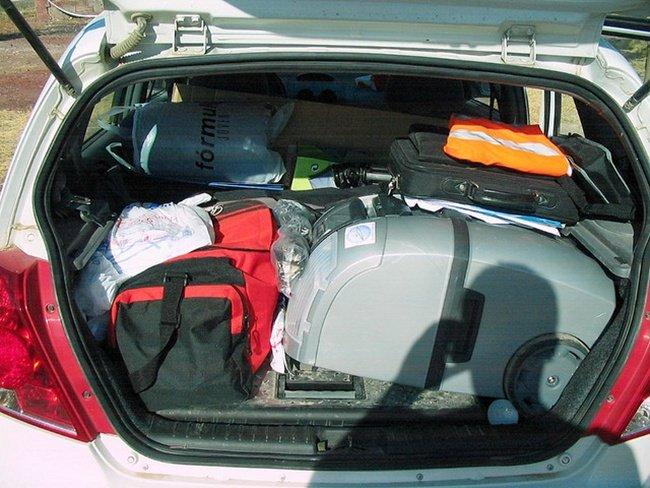 ¿Conocemos las normas de circulación?: sobre la carga y el equipaje