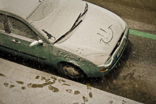 Pere Navarro propone: neumáticos de invierno y teletrabajo si nieva