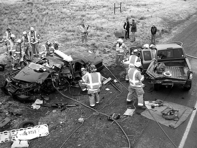 Accident on an Icy Road de born1945