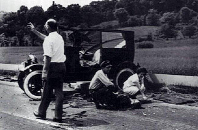 primer accidente automovilístico fatal