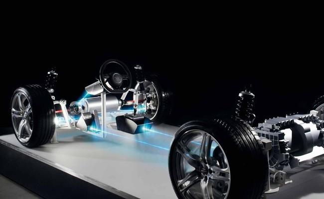 Tecnología by wire: Audi experimenta con volantes sin columna de dirección y con frenos sin circuito hidráulico