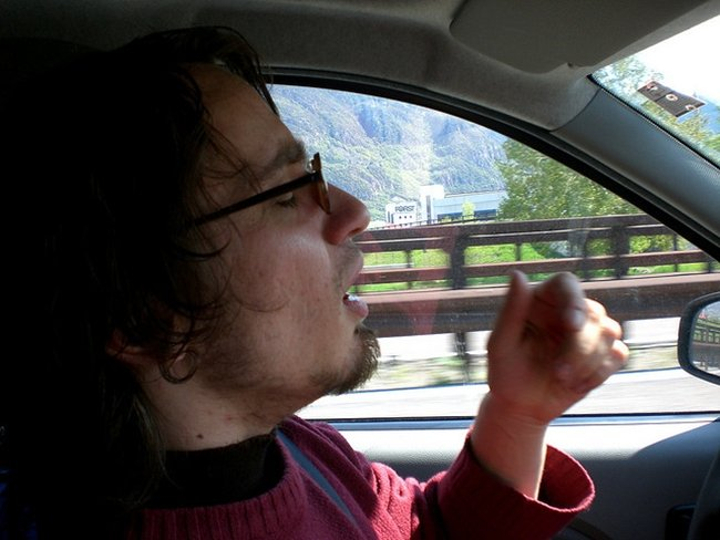 Driving to Italy #1 por peterholy
