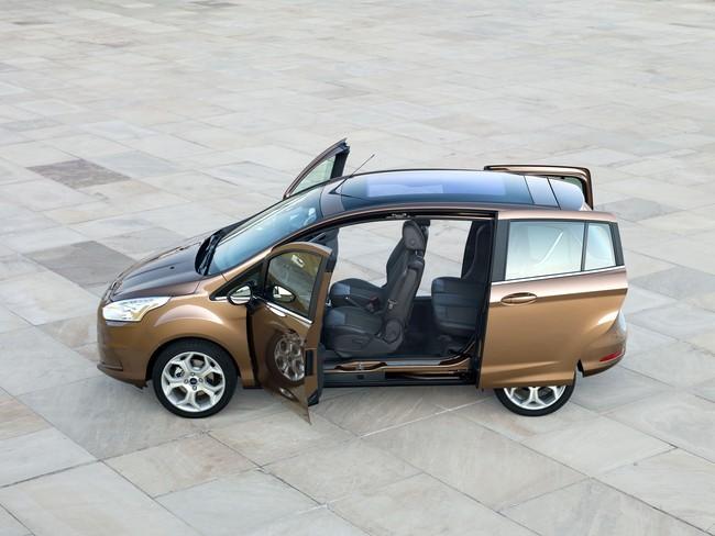 Crash test del Ford B-MAX, o cómo suprimir el pilar B y mantener la seguridad de los ocupantes