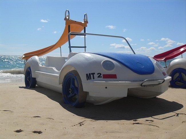 coche playa