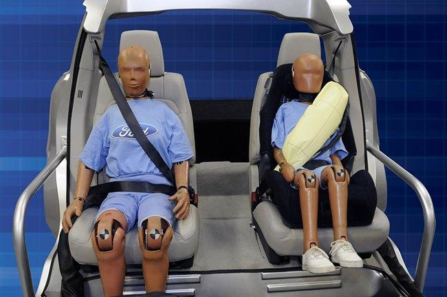 El cinturón de seguridad con airbag ya tiene visto bueno