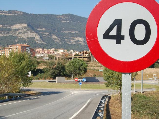 Limitación específica de velocidad