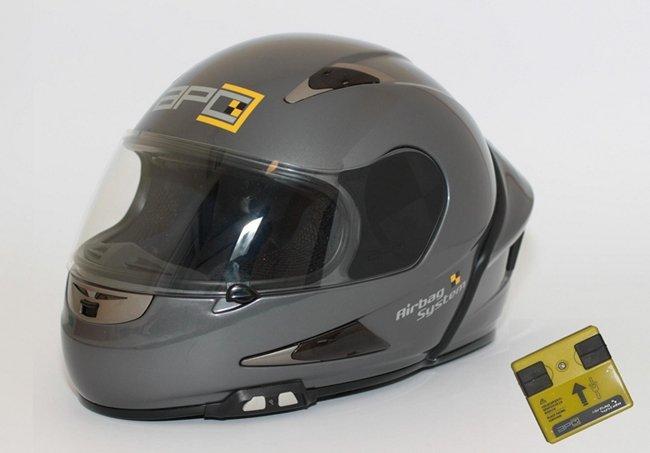 ¿Qué es el airbag para casco de protección?