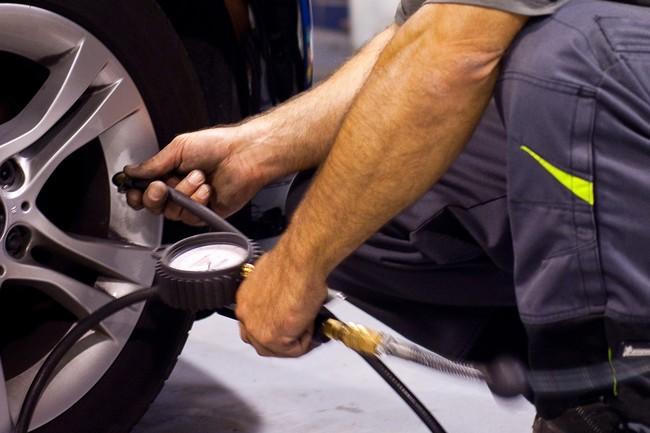 Presión de inflado del neumático