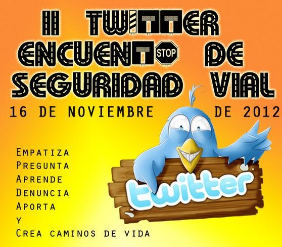 #SeguridadVial, el hashtag del 'Twitter Encuentro' que se celebrará el 16 de noviembre
