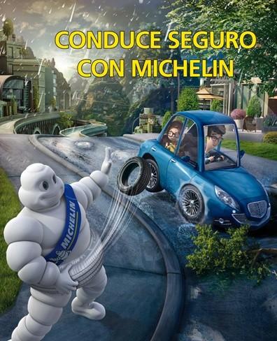 Conduce seguro con Michelin