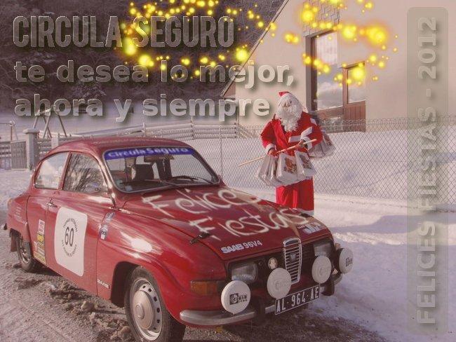 El equipo de Circula Seguro te desea Felices Fiestas