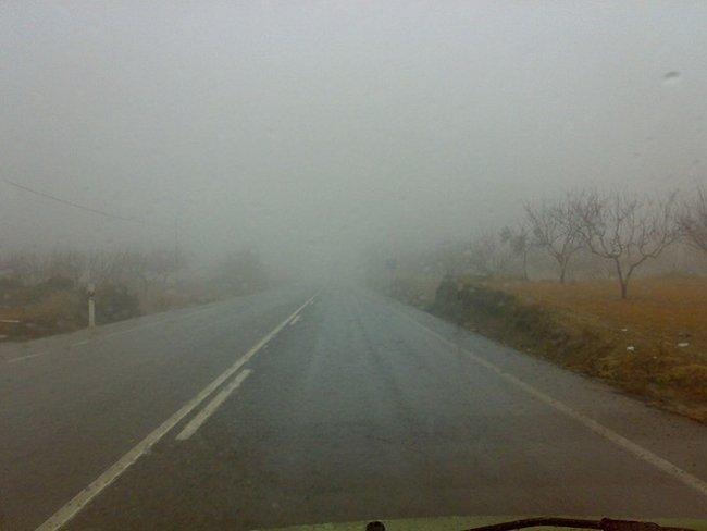 carretera por carballet