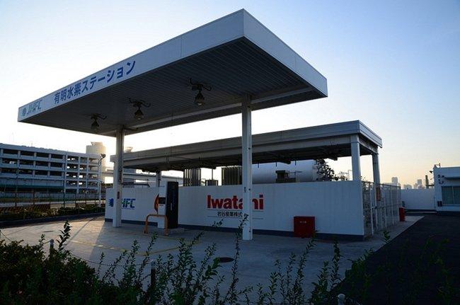 Estación de servicio de hidrógeno