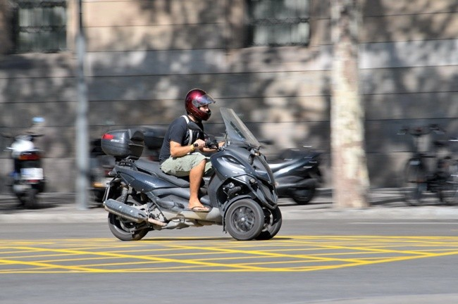 Motocicleta en Barcelona