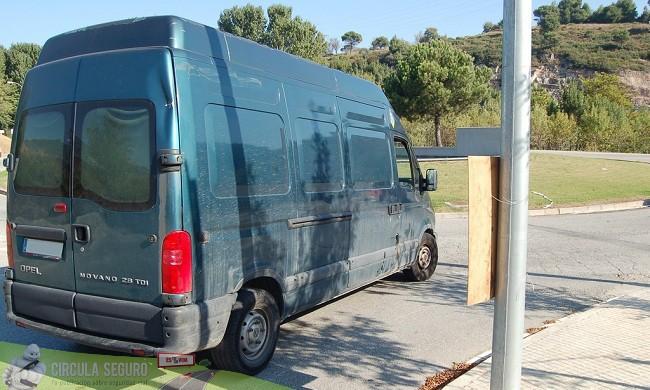 Las furgonetas de reparto y la siniestralidad vial laboral