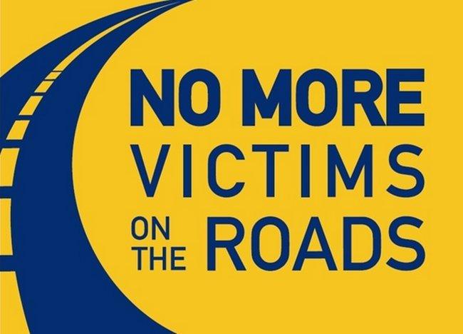 No más víctimas en la carretera, ¿te comprometes?