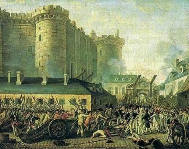 Toma de la Bastilla, 14 de julio de 1789