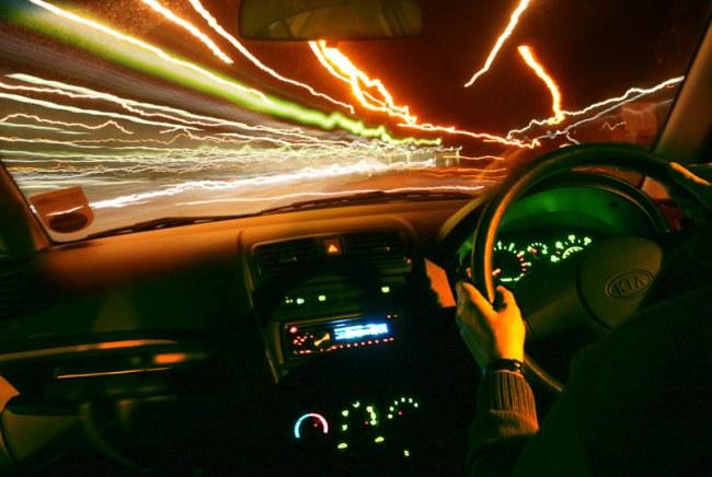 Si conduces así, te estás buscando un accidente