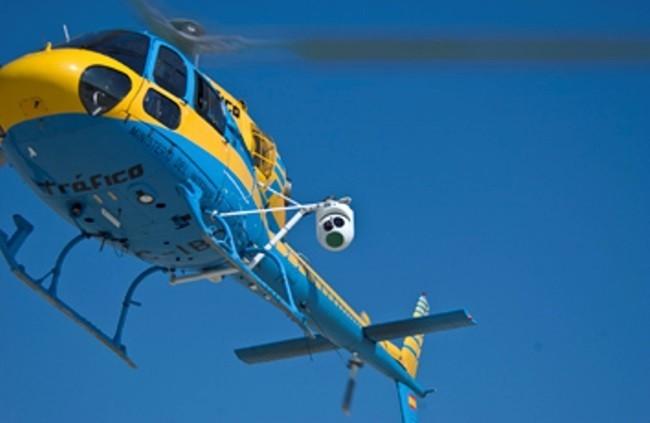Pegasus, el helicóptero de la DGT que todo lo ve