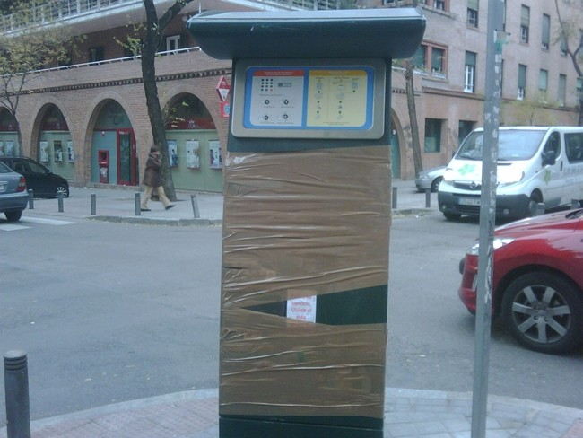 Los parquímetros de Madrid cobrarán en función del vehículo que estacione