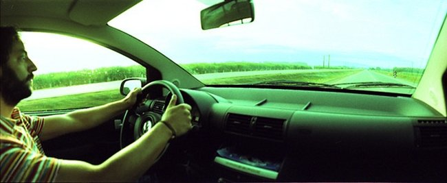 manos en volante