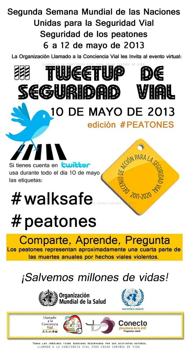 III Tweetup de Seguridad Vial