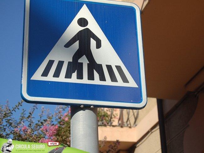 ¿Cuándo sabemos que somos peatones?