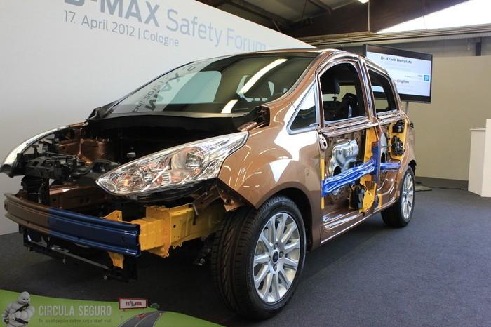 Estructura de deformación programada en el Ford B-MAX