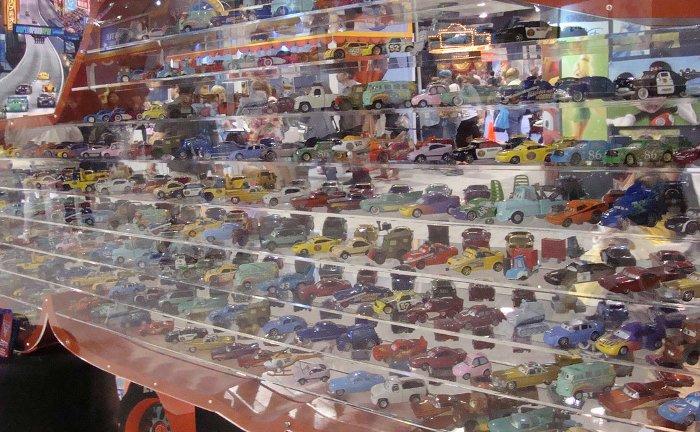 La cantidad de coches diferentes que se pueden llegar a configurar es abrumadora