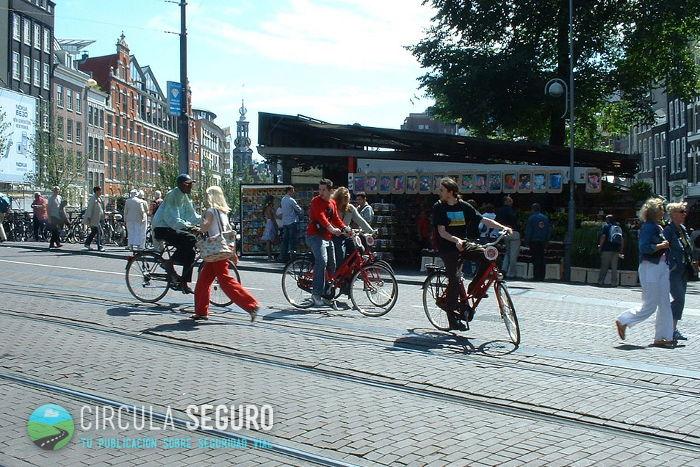 Seguridad de los ciclistas - Amsterdam