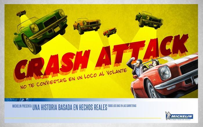 'Crash Attack', no te conviertas en un loco al volante