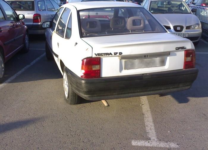 Dime cómo aparcas el vehículo y te diré quién eres