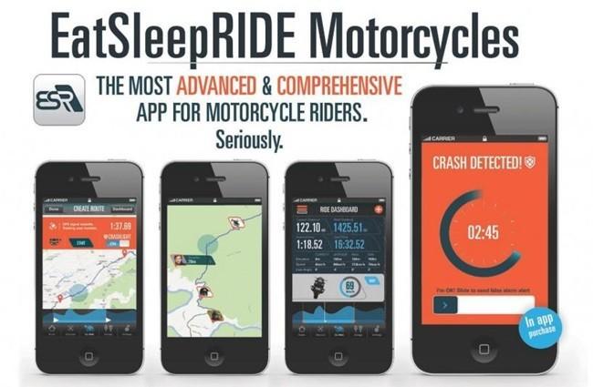 EatSleepRIDE, aplicación que detecta accidentes de moto mediante smartphone
