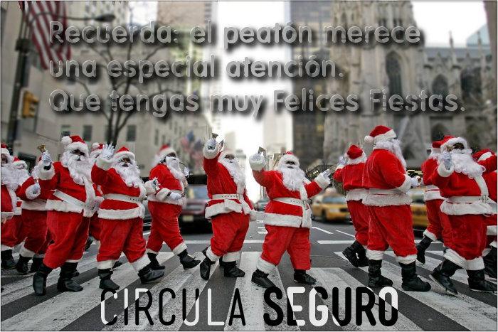 El equipo de Circula Seguro te desea muy Felices Fiestas