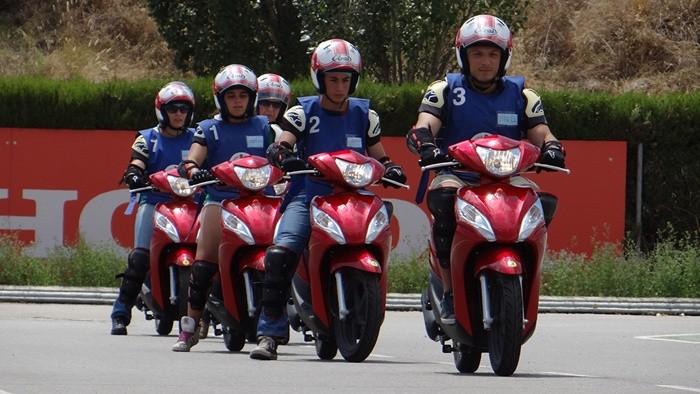 Honda, con los centros escolares en materia de Seguridad Vial
