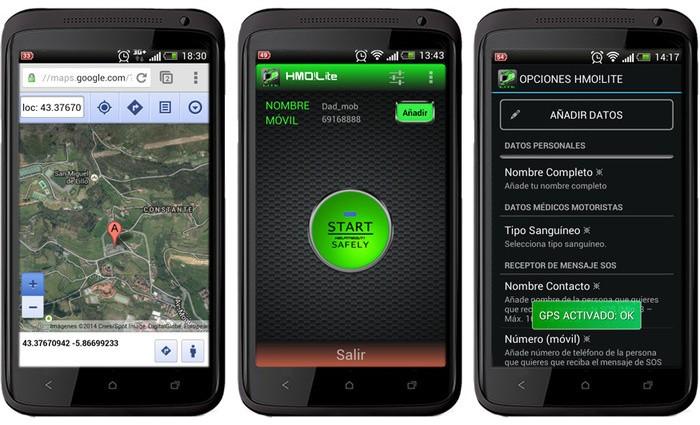 HelpMeOut!Lite, una interesante aplicación para asistencias de emergencia a motoristas