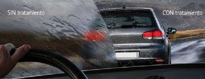 Repelentes del agua de lluvia para el parabrisas y cristales del coche